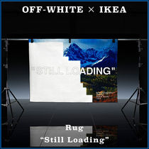 "【OFF-WHITE×IKEA】激レア イケア コラボ Rug ""Still Loading"""