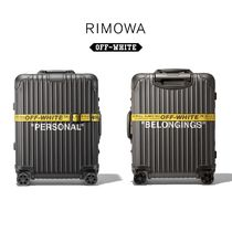 "OFF-WHITE  RIMOWA ""Personal Belongings"" オフホワイト リモワ"