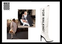 【SALE】Off-White★Rihanna着用for walkingロングブーツ(knee)