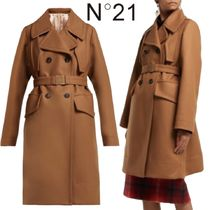 【18AW】★N21★Double-breasted wool-blend coat