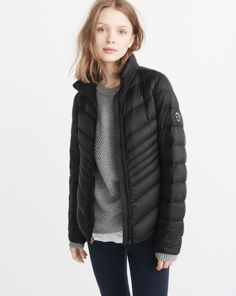 Abercrombie & Fitch ジャケット PACKABLE DOWN PUFFER