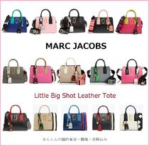 MARC JACOBS【国内発送】Little Big Shot Leather Tote☆