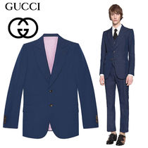18AW【GUCCI】Giacca Mitford in lana mohair ジャケット スーツ