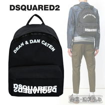 DSQUARED2 ★新作ロゴ刺繍入りナイロンバックパック国内発送