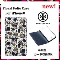 セール 新作 Tory Burch 手帳型 Floral Folio Case iPhone8