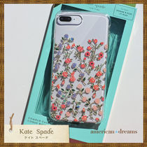 即発送【kate spade】お花柄 iPhone7Plus/6&6SPlus/8Plus