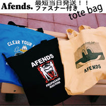 AFENDS(アフェンズ) トートバッグ 【最短当日発送】2018AW新作☆AFENDS☆プレミアムトートバッグ
