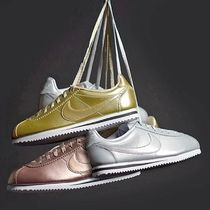 女性にうれしいGS ☆ NIKE ☆ CORTEZ Swoosh Gold Leather