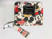 Disney Mickey and Minnie Mouse Wallet by LOUNGEFLY国内即発送