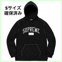 18AW WEEK8 SUPREME Studded Hooded Sweatshirt フーディ