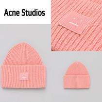 新作!Acne Studios  Pansy N Face Hat in Pale Pink