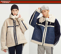 ROMANTIC CROWN★韓国人気ブランド RMTC Aviator Mouton Jacket