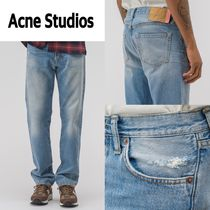 新作!Acne Studios  1996 Mid Blue Trash Jeans