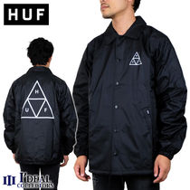 HUF ESSENTIALS TT COACHES JACKET JK00116 コーチジャケット