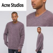 追跡有り配送!Acne Studios  Nosti Sweater in Powder Pink