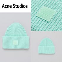 新作!Acne Studios  Pansy N Face Hat in Mint Green