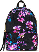 【Victoria's Secret】Midnight Blooms Small City Backpack