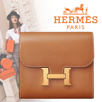 HERMES 折りたたみ財布 18AW  新作エルメス  Portefeuille Constance compact 財布