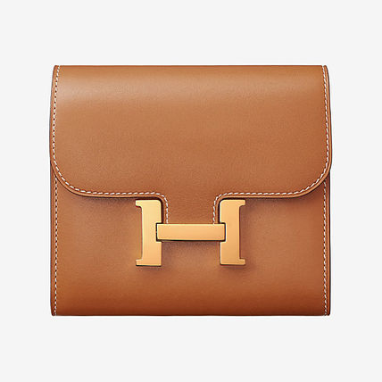 HERMES 折りたたみ財布 18AW  新作エルメス  Portefeuille Constance compact 財布(2)