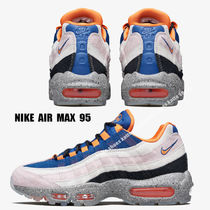 NIKE★AIR MAX 95★CHAMPAGNE/SAFETY ORANGE/SPORT ROYAL