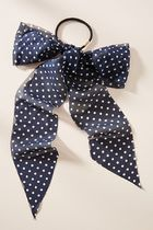 【Anthropologie】新作!可愛いDotted Scarfヘアゴム