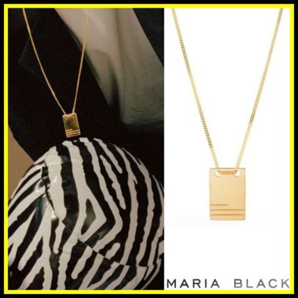 Maria Black ネックレス・チョーカー 送料関税込☆Maria Black☆ロブネックレス HIGH POLISHED GOLD