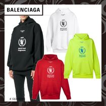 早期完売★BALENCIAGA World Food Programme パーカー(4色)