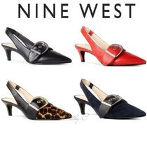 Nine West*レザー*ストラップパンプス/Quennell Slingback Pumps