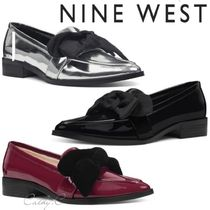Nine West*リボン*マニッシュ*ローファー/Weeping Bow Loafers
