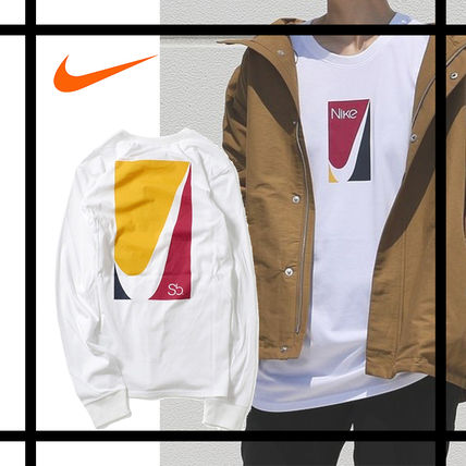 Nike Tシャツ・カットソー 国内発送★正規品★NIKE SB カラーブロック L/S TEE★男女兼用