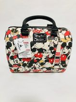 Disney Mickey and Minnie Mouse Satchel by Loungefly国内発送