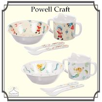Powell Craft☆Baby メラミン食器セット Space/Mermaid