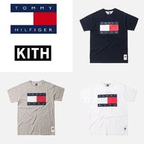 KITH( キス ) x tommy 新作! トミー Flag Tee Navy