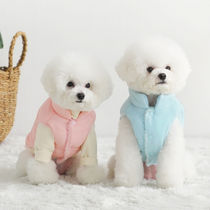 WOOLCLAIR_WOOLY_ベスト_ペット洋服_犬S~XL_4カラー_保温性_風防