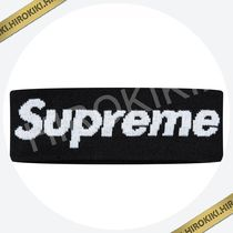 18AW /Supreme New Era Big Logo Headband ヘッドバンド Black