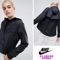 Nike Colour Block Wind Breaker Jacket In Black♪