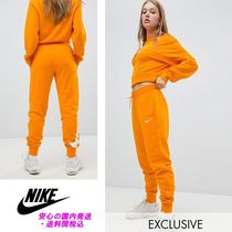 Nike Exclusive To ASOS Orange Joggers♪