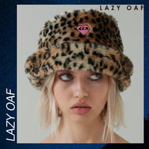 LAZY OAF G.E.M Furry Hat 帽子ハット ヒョウ柄 フェイクファー