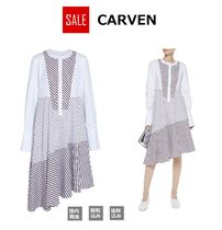 ★SALE★CARVEN コットンポプリン シャツワンピース