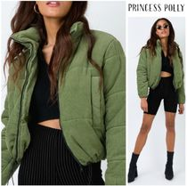 【Polly the label】Cute!カーキパッファジャケットPOLLY PUFFER