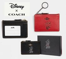 Coach ◆ 37536 Disney x Coach boxed minnie mouse ID case