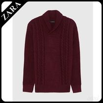 ☆ Men's ZARA☆ CABLE-KNIT SWEATER