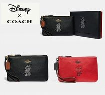 Coach ◆ 37540 Disney x Coach minnie mouse small wristlet