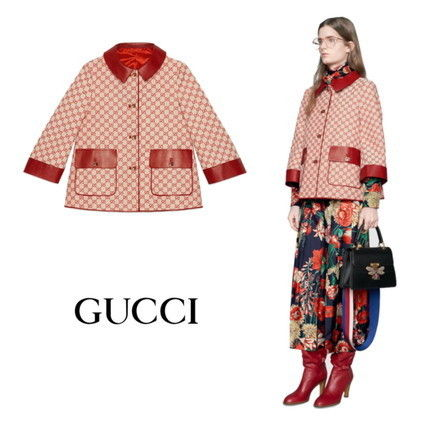 【GUCCI】Giacca in tela GG