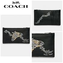 【COACH】☆18-19AW新作☆ Zip Crd Case With Tattoo