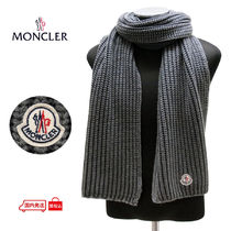 【65】 MONCLER 国内発送 クーポン発行可 マフラー SCIARPA