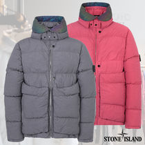 直営店★STONE ISLAND★ ENCASE PANEL DOWN JACKET