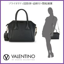 【関税補償】VALENTINO Minimi Studded Leather Tote