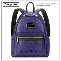 NY 発送★ ディズニー Haunted Mansion Mini Backpack Loungefly