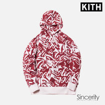 KITH COCA-COLA CUBED HOODIE / RED / MEDIUM